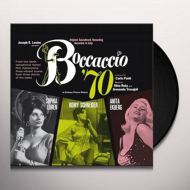 Nino Rota BOCCACCIO 70 / O.S.T. Vinyl Record