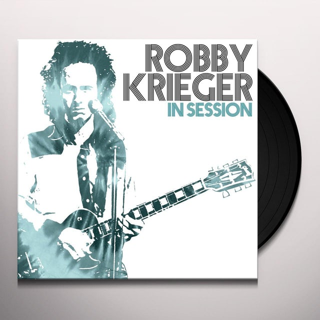 Robby Krieger IN SESSION Vinyl Record