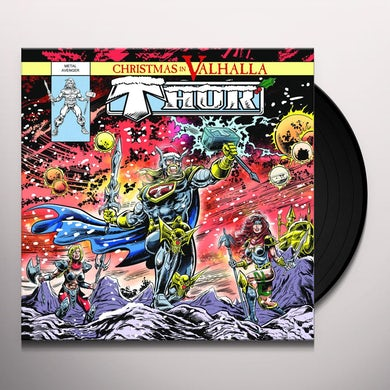 Thor CHRISTMAS IN VALHALLA Vinyl Record