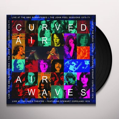 AIRWAVES - LIVE AT THE BBC REMASTERED / LIVE AT Vinyl Record