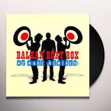 Balkan Beat Box NU MADE REMIXES Vinyl Record