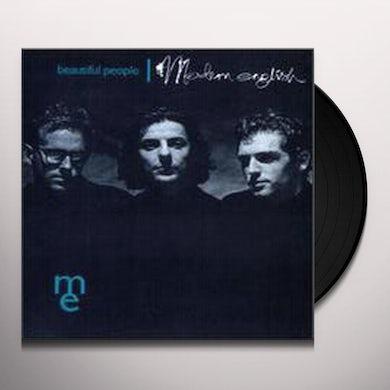 Modern English BEAUTIFUL PEOPLE Vinyl Record