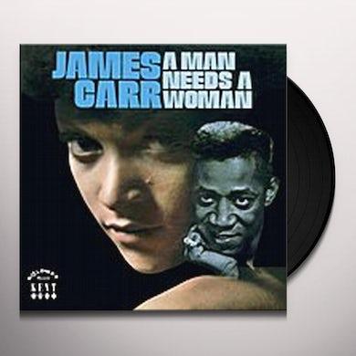 MAN NEEDS A WOMAN Vinyl Record