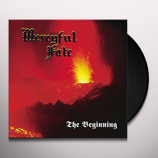 Mercyful Fate BEGINNING Vinyl Record