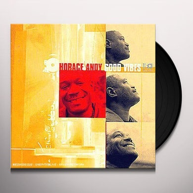 Horace Andy GOOD VIBES Vinyl Record