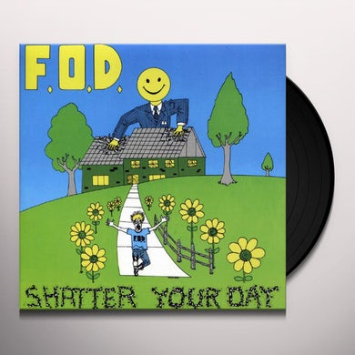 SHATTER YOUR DAY Vinyl Record