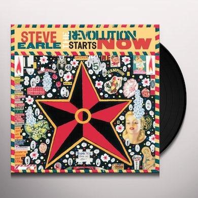 Steve Earle & The Dukes REVOLUTION STARTS NOW Vinyl Record