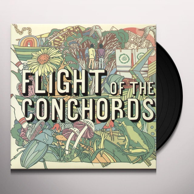 Flight Of The Conchords Vinyl Record