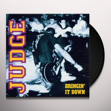 BRINGIN' IT DOWN Vinyl Record