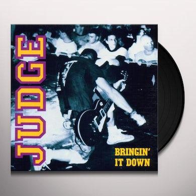 Judge BRINGIN' IT DOWN Vinyl Record