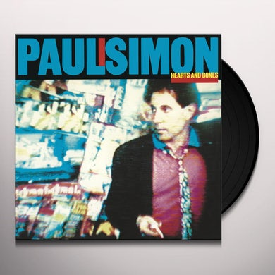 Paul Simon HEARTS & BONES Vinyl Record