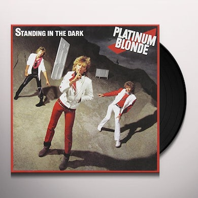 Platinum Blonde STANDING IN THE DARK Vinyl Record