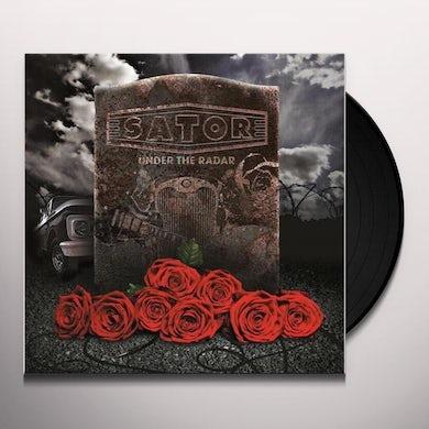 Sator UNDER THE RADAR (TRANSPARENT MARBLE GOLD/BLACK) Vinyl Record