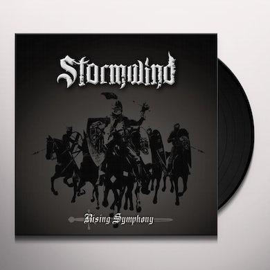 Stormwind RISING SYMPHONY (MARLBLE SILVER/WHITE/BLACK) Vinyl Record