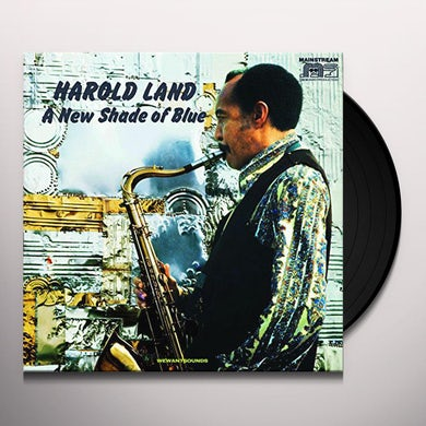 Harold Land NEW SHADE OF BLUE Vinyl Record