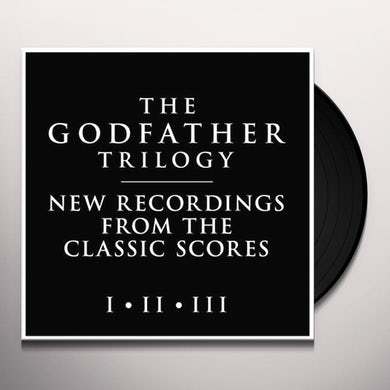 City Of Prague Philharmonic Orchestra GODFATHER TRILOGY I - II - III Vinyl Record