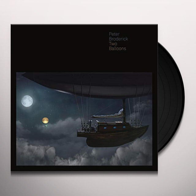 Peter Broderick TWO BALLOONS Vinyl Record