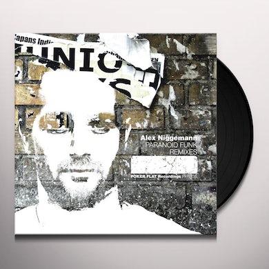Alex Niggemann PARANOID FUNK REMIXES Vinyl Record