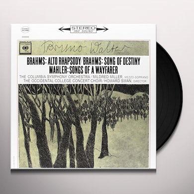 BRAHMS: ALTO RHAPSODY / SONG OF Vinyl Record