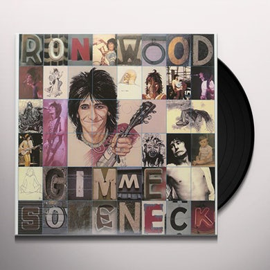 Ronnie Wood GIMME SOME NECK Vinyl Record