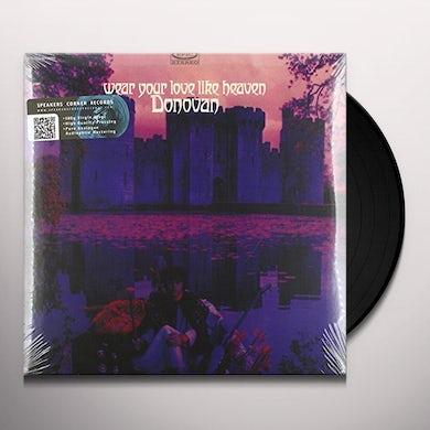 Donovan WEAR YOUR LOVE LIKE HEAVEN Vinyl Record