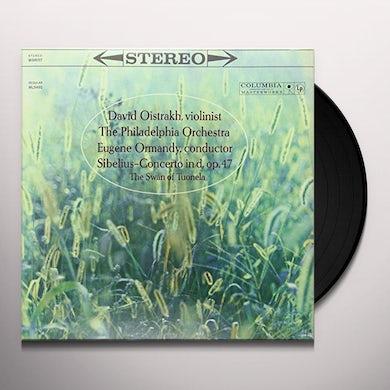 David Oistrakh SIBELIUS: VIOLIN CONCERTO IN D Vinyl Record