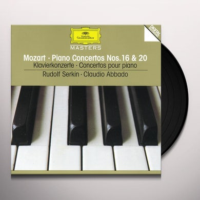 Rudolf Serkin MOZART PIANO CONCERTOS NO. 11 & 20 Vinyl Record