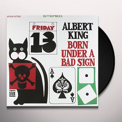 Albert King BORN UNDER A BAD SIGN Vinyl Record