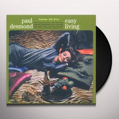 Paul Desmond EASY LIVING Vinyl Record