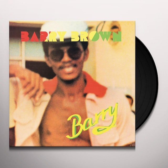 Barry Brown BARRY Vinyl Record