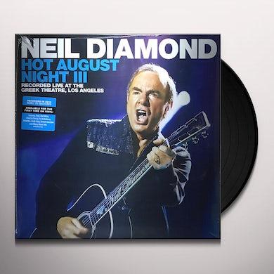Neil Diamond Hot August Night III (2 LP) Vinyl Record