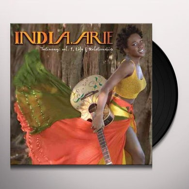India.Arie TESTIMONY 1: LIFE & RELATIONSHIP Vinyl Record