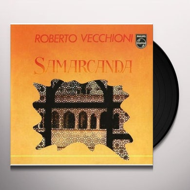 Roberto Vecchioni SAMARCANDA/CANZONE PER SERGIO Vinyl Record