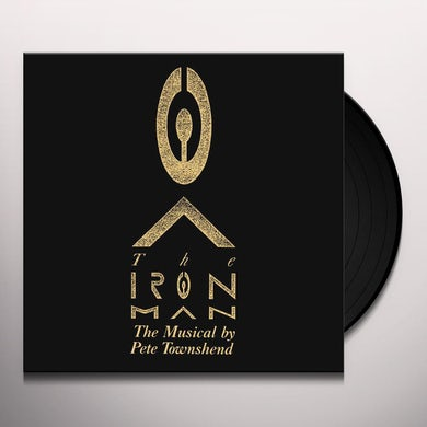 Pete Townshend IRON MAN: THE MUSICAL BY PETE (SILVER VINYL) Vinyl Record