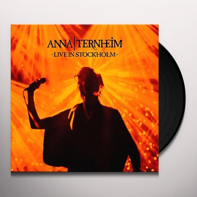 Anna Ternheim LIVE IN STOCKHOLM Vinyl Record