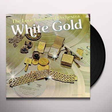 Love Unlimited WHITE GOLD Vinyl Record