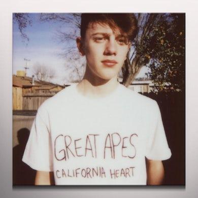 Great Apes CALIFORNIA HEART (COLORED VINYL) Vinyl Record - Colored Vinyl, Canada Release