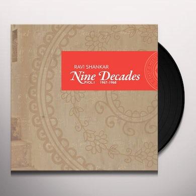 Ravi Shankar NINE DECADES 1 Vinyl Record