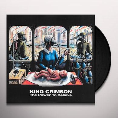 King Crimson POWER TO BELIEVE Vinyl Record