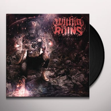 Within The Ruins BLACK HEART Vinyl Record