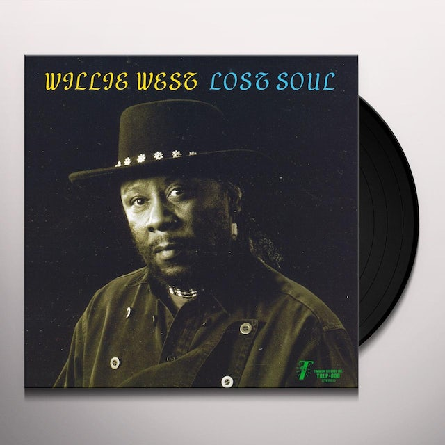 Willie West LOST SOUL Vinyl Record - UK Release