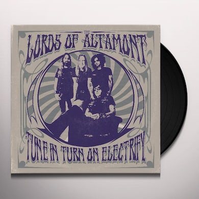 TUNE IN, TURN ON, ELECTRIFY Vinyl Record