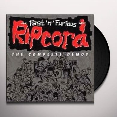 Ripcord FASTNFURIOUS THE COMPLETE DEMOS Vinyl Record