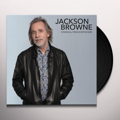 Jackson Browne Downhill From Everywhere/A Lit Vinyl Record