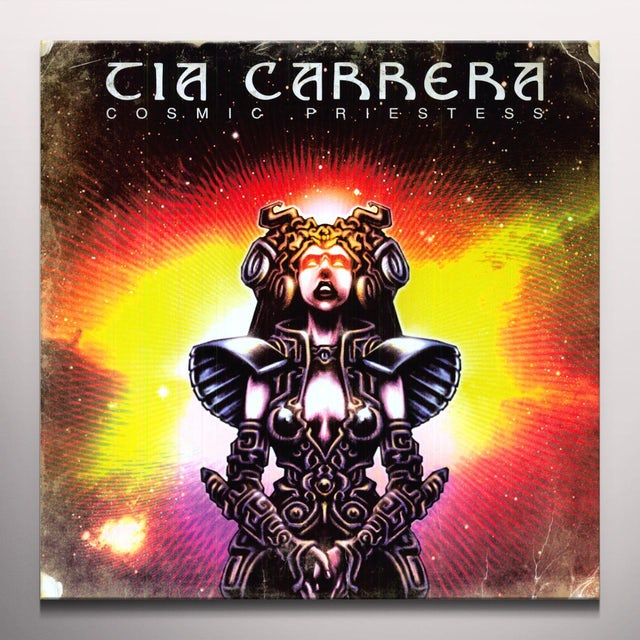Tia Carrera COSMIC PRIESTESS Vinyl Record