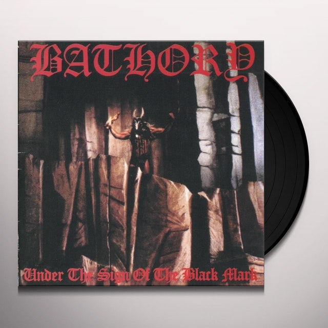Bathory UNDER THE SIGN OF THE BLACK Vinyl Record - UK Release