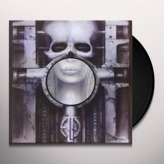 Emerson, Lake & Palmer BRAIN SALAD SURGERY Vinyl Record - Poster