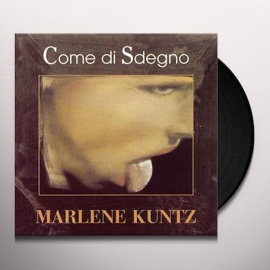 Marlene Kuntz COME DI SDEGNO Vinyl Record