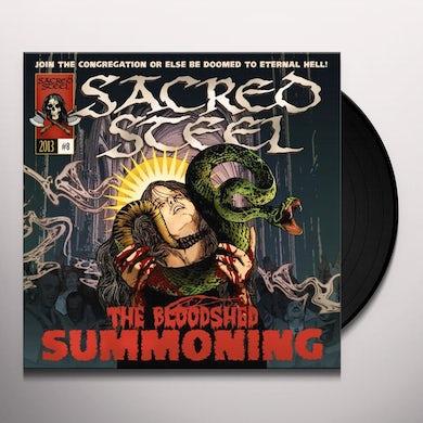 Sacred Steel BLOODSHED SUMMONING Vinyl Record