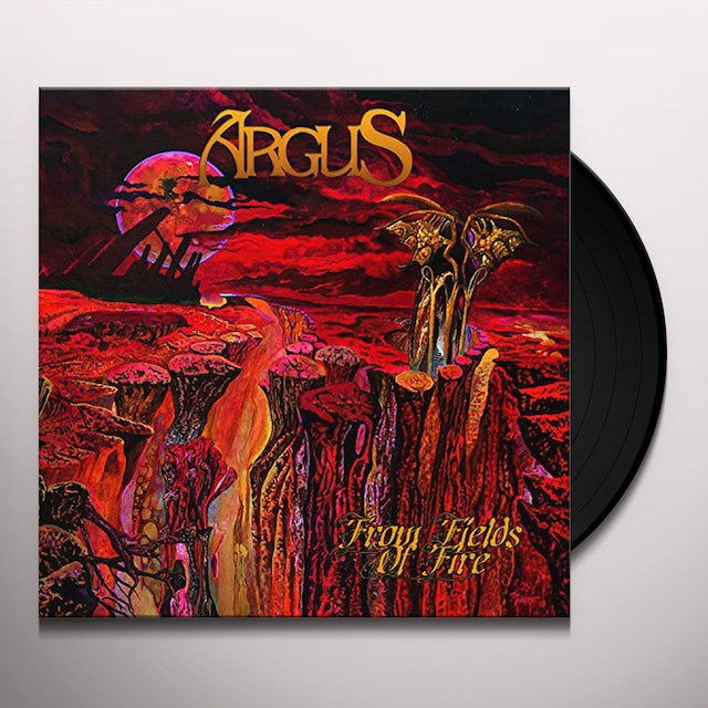 Argus FROM FIELDS OF FIRE Vinyl Record
